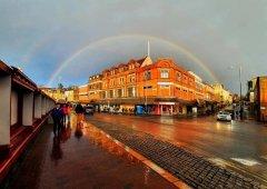 Rainbow over Tunbridge Wells