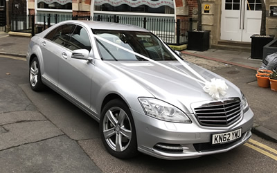 Our wedding car available for hire in Crowborough